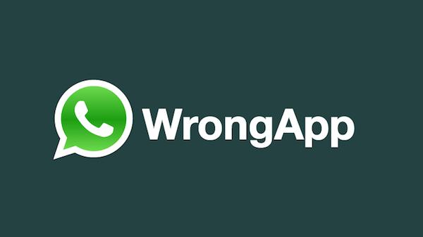 Aplikasi WhatsApp Palsu