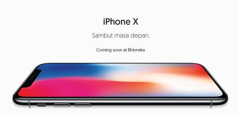 Promo iPhone X di Bhinneka