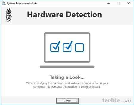 Hardware Detection dari Can You Run It