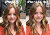 Hasil foto selfie iPhone XS vs iPhone X Avery Hartmans di luar ruangan cahaya cukup
