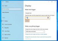 Cara Mengganti Ukuran Font di Windows 10