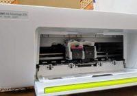 Cara Reset Printer HP 2135 - Letakkan dudukan cartridge di tengah jalurnya secara manual