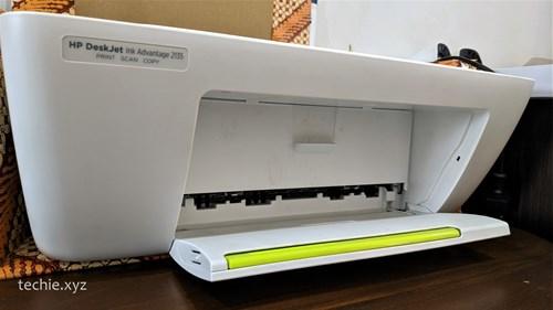 Cara Reset Printer HP 2135 - buka penutup depan