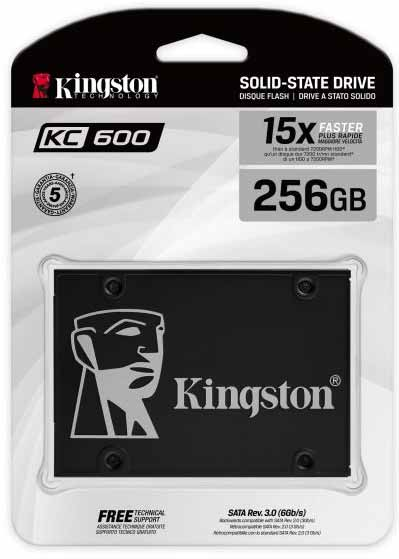 SSD SATA 2.5 inchi Kingston KC600