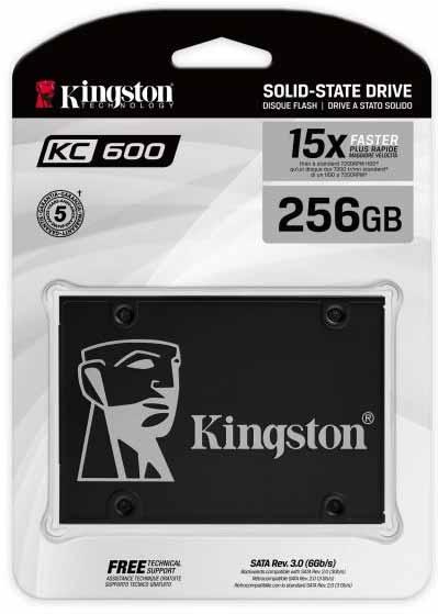 SSD SATA 2.5 inchi Kingston KC600